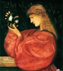 'Astrologia' Edward Burne-Jones