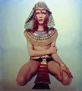 Bowie as Sphnix