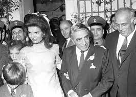 Jackie and Ari Onassis in Greece