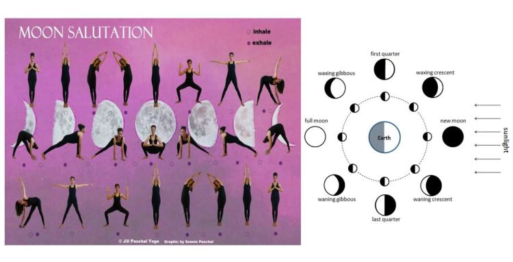 Moon Salutation Moon Phases