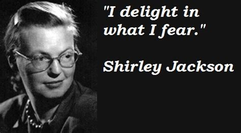 Shirley Jackson quote