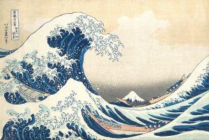The Wave by Hokusai