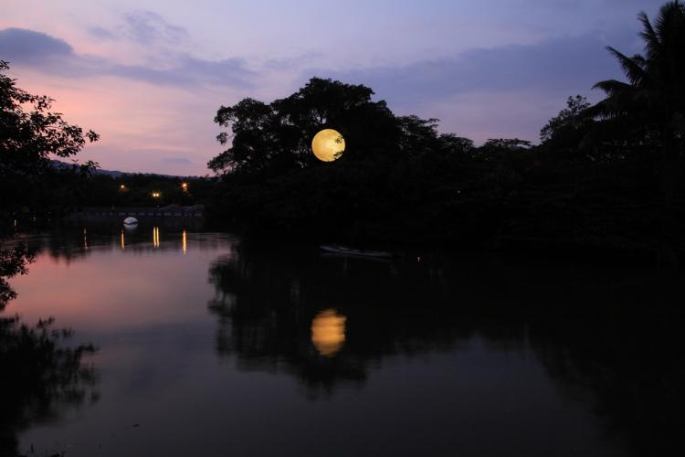 Moon in Taiwan