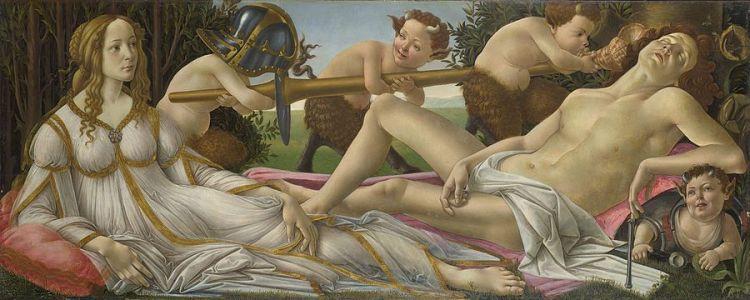 Botticelli Venus and Mars